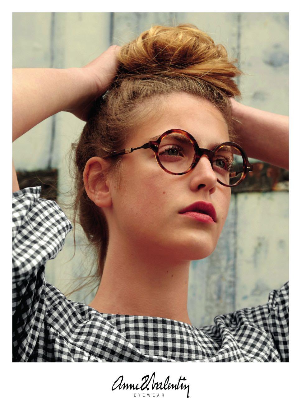 3a9b6e978e9b0e Ontdek de eigenzinnige brillen van Anne et Valentin