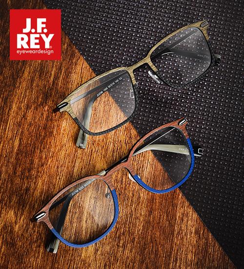 49a9f250c60967 CARBON WOOD van J.F. Rey  brillen voor de stijlvolle man